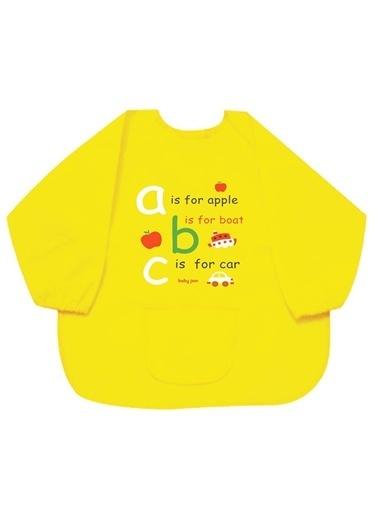 Baby Jem Faaliyet Önlüğü Kollu  Sarı